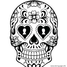 printable coloring pages sugar skulls skull coloring book plus sugar skulls coloring pages free skull