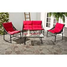 red aluminum patio furniture outdoor seating u0026 dining for less