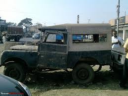 military jeep side view panagarh the scrap vehicles graveyard of kolkata team bhp