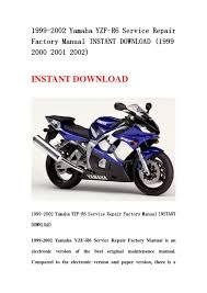 28 2000 yamaha r6 service manual 127342 2000 yamaha r6 4