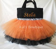 personalized trick or treat bags personalized trick or treat bag monogrammed orange