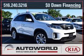East Meadow Upholstery Used Certified One Owner 2015 Kia Sorento Ex East Meadow Ny