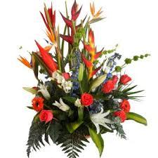 online flowers aruba tropical burst flower delivery flower arrangement in