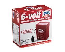 amazon com power wheels 6 volt rechargeable replacement battery