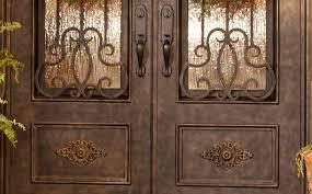 ornamental door ornate castle door house door heavy