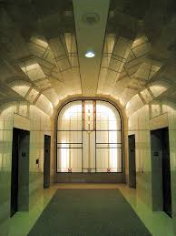 1948 art deco lobby ted rogers of management bay and
