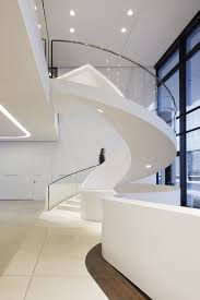 Circular Stairs Design Magnificent Modern Circular Staircase Design With Drop Ceiling
