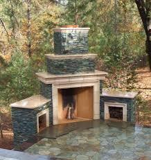 other design stunning image of outdoor dark brown brick fireplace