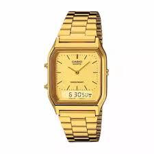 Jam Tangan Casio Gold casio analog digital aq 230ga 9dmq jam tangan unisex gold