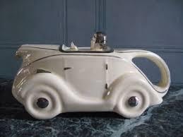 art deco racing car teapot 130392 sellingantiques co uk