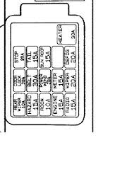 box diagram mazda 323 fuse wiring diagrams instruction