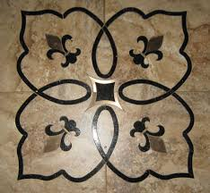 floral tile inlays weaver designs llc