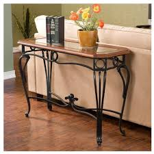 marble sofa table table tasty wrought iron sofa tables strong table for interior rod