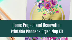 Diy Home Renovation by Home Improvement Project And Renovation Planner Diy Planner