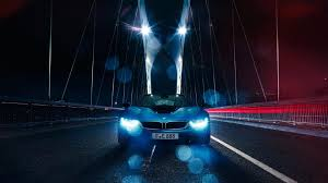 Bmw I8 Night - bmw i8 theme for windows 10 8 7