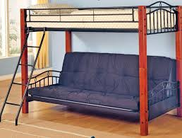 metal twin over futon bunk bed roof fence u0026 futons great twin