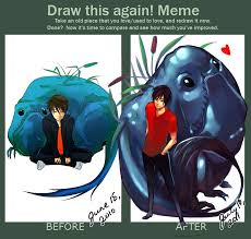 Draw It Again Meme - draw this again meme by littlewinterheart on deviantart