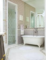 subway tile ideas bathroom 45 subway tile bathroom floor ideas derekhansen me