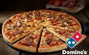 how much is a medium pizza at round table how many slices does a domino s medium pizza have quora
