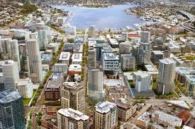 Map Of Seattle Neighborhoods by Facebook U0026 Amazon Get Snug In South Lake Union Lake Union