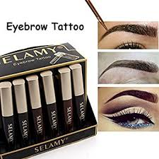 buy fission 1 selamy brand waterproof henna eyebrows makeup