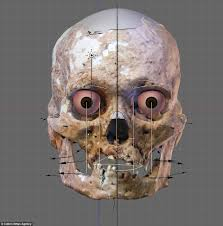 incredible reconstruction 10 000 year old african caveman daily