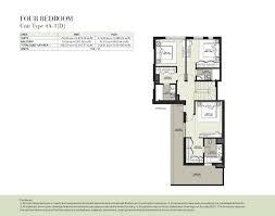 hayat boulevard by nshama 2 bedroom apartment type 2b 18 floor plan