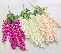 halloween freesia compare prices on artificial orchid stems online shopping buy low