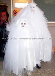 Halloween Costume Ghost Sew Tulle Ghost Costume Robe Costumes Ghost Costumes
