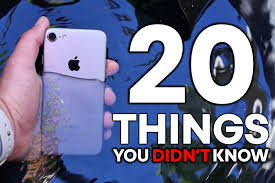 iphone 7 20 things you didn t