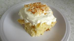 coconut tres leches cake with lemon whipped cream the culinary