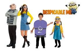 Despicable Family Halloween Costumes Family Costumes Costume Supercenter Blog
