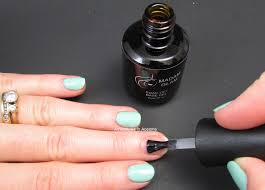 cure nail polish with uv l gel polish review madam glam honeydew adventures in acetone