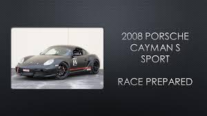 2008 porsche cayman s sport for sale for sale 2008 porsche cayman s sport race prepared 39k