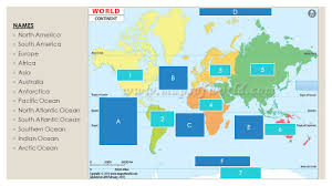 Arctic Ocean Map Understanding World Maps Names North America South America