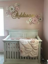Pink And Grey Nursery Decor Bedroom Decoration Baby Room Ideas Paint Baby Nursery