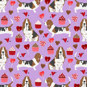 afghan hound fabric basset hound fabric fabric wallpaper u0026 gift wrap spoonflower