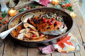 thanksgiving stuffed turkey breast roast turkey apricot stuffing u0026 the trimmings recipe great