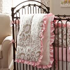 useful pink leopard print crib bedding amazing home decor