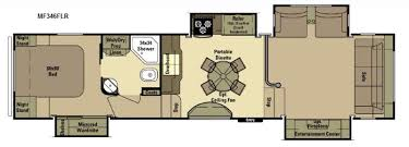 5th wheel with living room in front new 2016 open range rv mesa ridge mf346flr fifth wheel at us