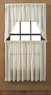 tobacco cloth natural curtains and window collection by vhc brands