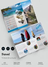 three fold brochure template free download 6 popular sample