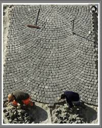 Cobblestone Ideas by Paver Pattern M U0026d Landscaping Pinterest Paver Patterns