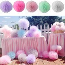 tulle pom poms diy 8 tulle pom poms balls for wedding party bridal shower baby
