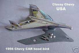 1956 chevrolet bel air bird ornament