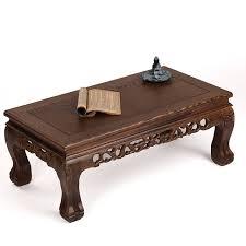bureau acajou acajou meubles en bois rectangulaire en bois massif sculpté tigre