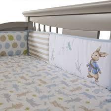 peter rabbit crib bedding uk cribs decoration peter rabbit 4 piece crib bumper