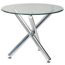 Glass Round Kitchen Table Round Glass Table And Chairs Rounddiningtabless Com