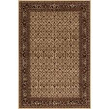 Concord Global Area Rugs Concord Global Trading Classics Herati Ivory 7 Ft 10 In