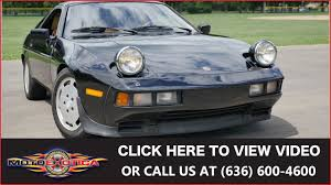 porsche scarface 1983 porsche 928s for sale youtube